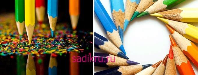 Какие карандаши приобрести маленькому ребенку