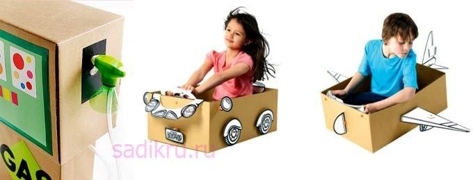 Самодельные игрушки для детей до пяти лет и старше