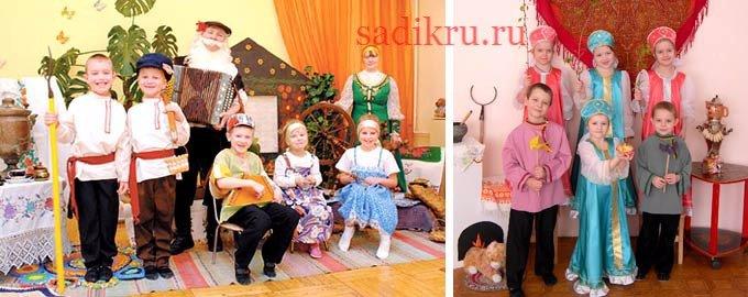 Фольклор в детском саду — значение и польза