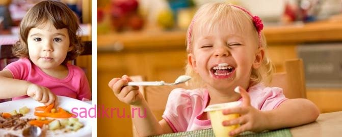 В каком возрасте следует развивать навыки самообслуживания ребенка
