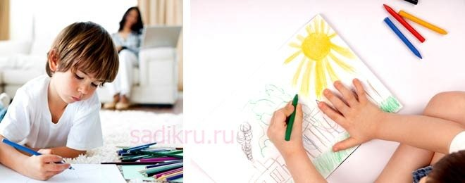 Что значит если ребенок рисует только черными красками