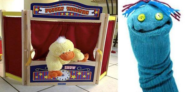 кукольный театр своими руками для детского сада