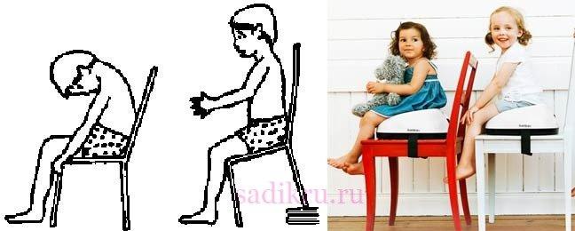 Как ребенок научится сидеть за партой
