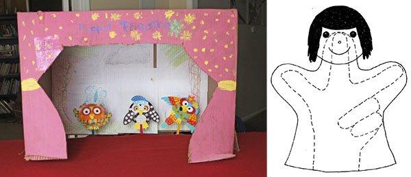 плоские куклы для детского театра