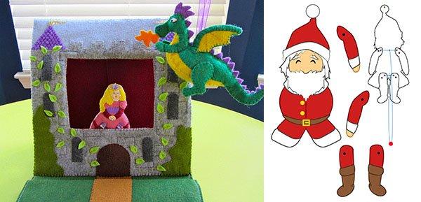 игрушки для театра в детском саду