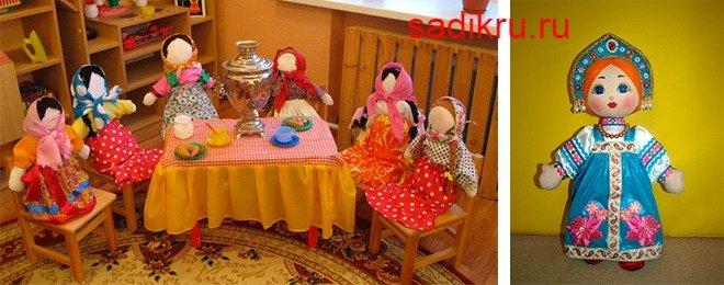 выставка народных кукол в ДДУ