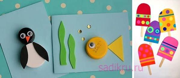 Интересные поделки для детей из пластилина