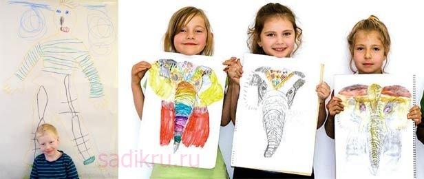 Психология детского рисунка — как расшифровать