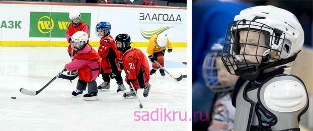 Отдать ребенка в хоккей в пять лет