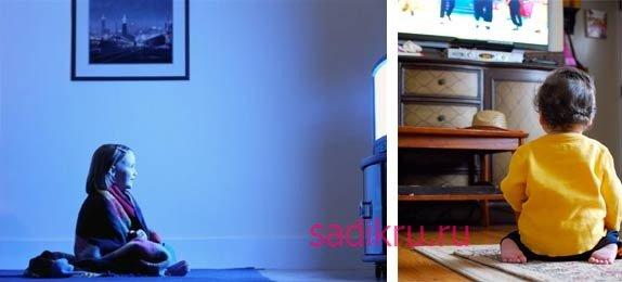 Как долго ребенок может смотреть телевизор