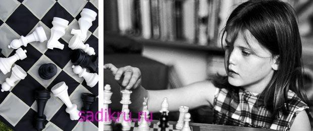 Как научить ребенка играть в шахматы в детском саду